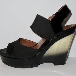 Donald J Pliner Platform Wedge Sandal Size 8